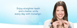 Enjoy straighter teeth and a better smile every day with Invisalign.