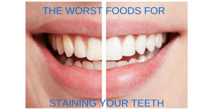 The Worst Food For Staining Your Teeth
