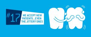 Jittery Dentist Patients in Downtown Edmonton