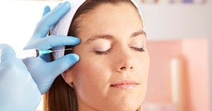 Woman in Edmonton Getting Botox at Dentist